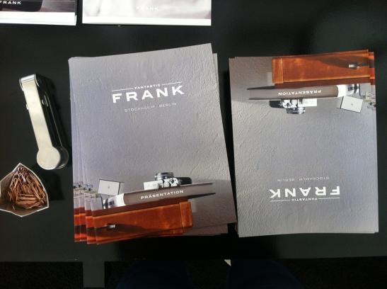 Broschüren Fantastic Frank Immobilienagentur