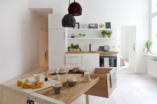 PRENZLAUER BERG Schönhauser Allee kitchen fantasic frank