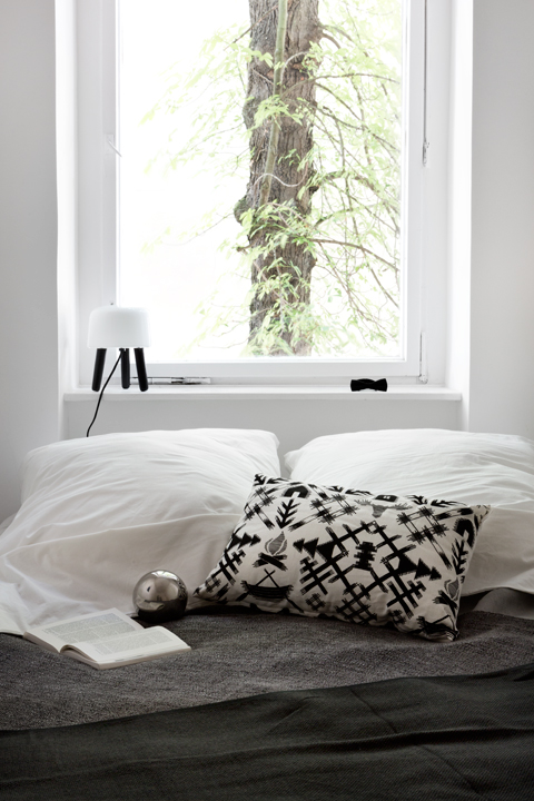 bed green view