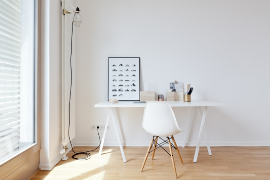 Desk & Eames Chair