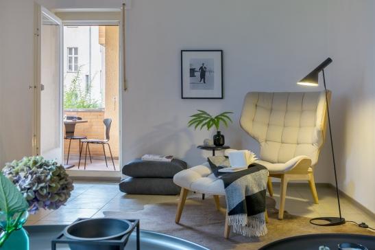 Balcony Leberstrasse Berlin immobilienagentur Fantastic Frank