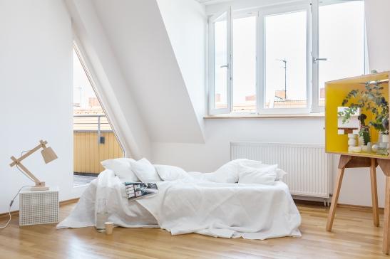 Bedroom Sonntagstraße Berlin immobilienagentur Fantastic Frank