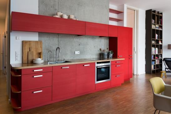Red kitchen Fantastic Frank Berlin